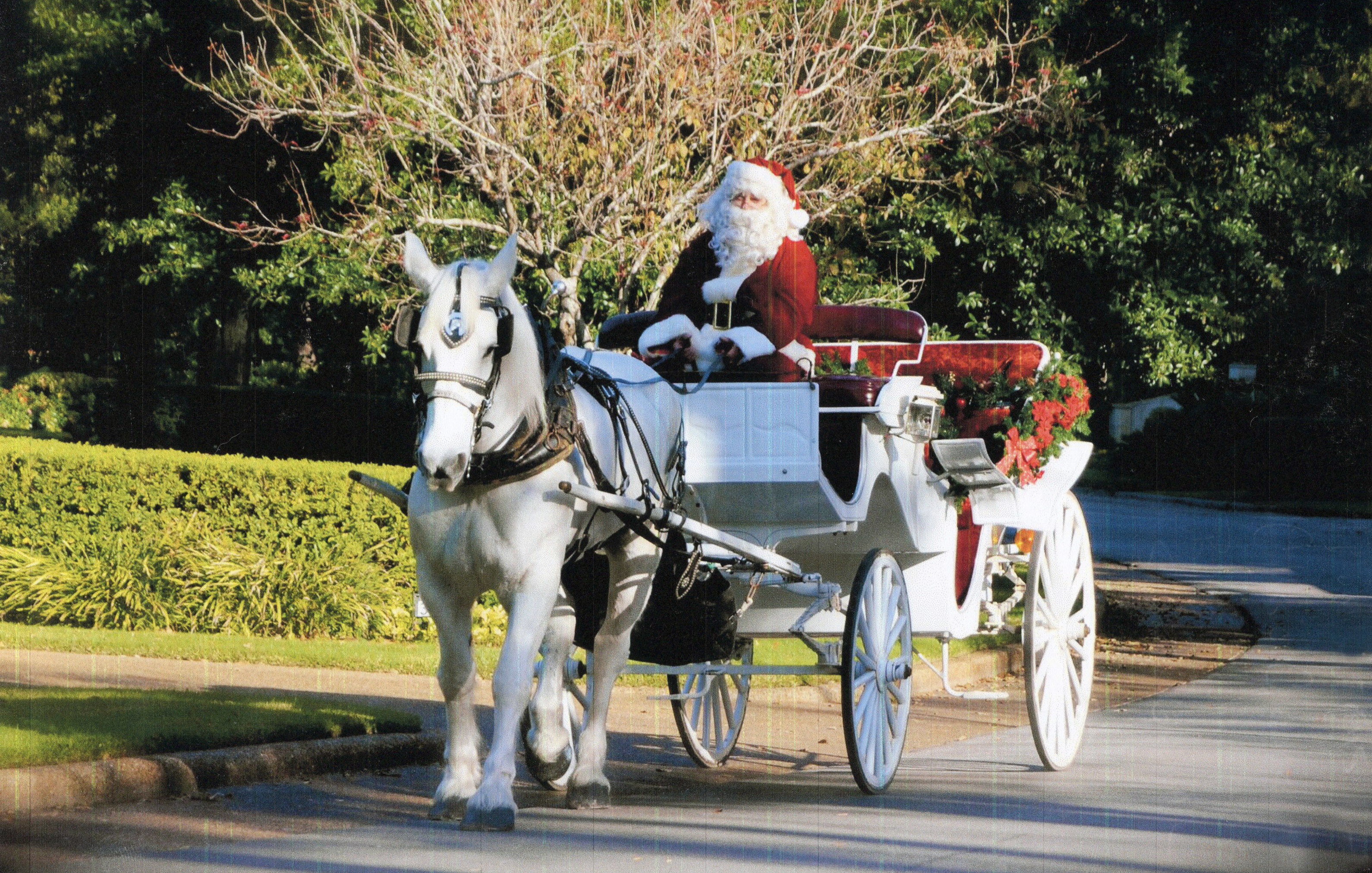 Rivers Oaks Butler Christmas Lights Carriage Rides Home Remodeling Real Estate Services